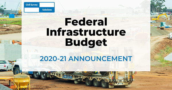 Federal Infrastructure Budget 2020-21 Announcement